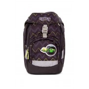 Školní batoh ERGOBAG prime - černý ZigZag