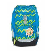 Školní batoh ERGOBAG prime - modrý ZigZag