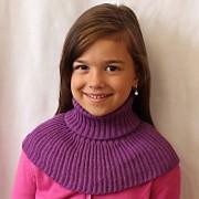 Dětský pletený nákrčník Pletex
