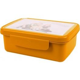 Zdravá sváča - svačinový box - oranžová