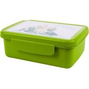 Zdravá sváča - svačinový box - zelená