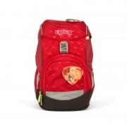Školní batoh ERGOBAG prime - červený kiss the bear