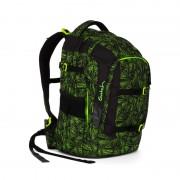 SATCH studentský batoh ERGOBAG - Green Bermuda