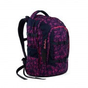 SATCH studentský batoh ERGOBAG - Pink Bermuda