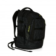 SATCH studentský batoh ERGOBAG - Black Bermuda