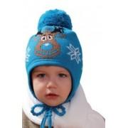 H078 Zimní čepice sobík PLETEX