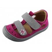 19012-80 KAIMAN  barefoot sandálky FILII pink/grey