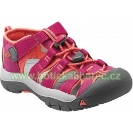 Newport H2 sandále KEEN very berry/fusion coral